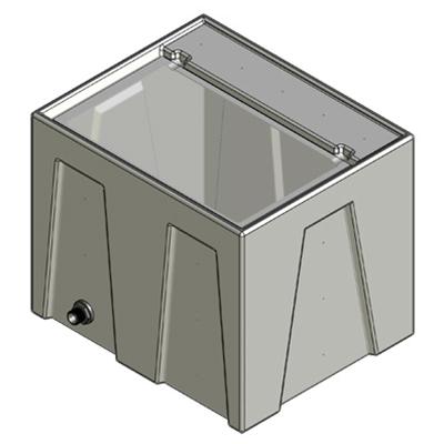 1RE Seamless Sump Tub Configuration 1
