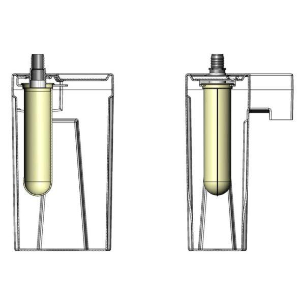 Seamless Sump Single Sock Tub Diagram Inside