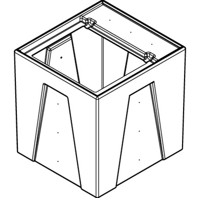 1RM Seamless Sump Tub Configuration 2