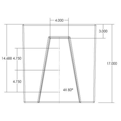 1RM Seamless Sump Tub Configuration 4