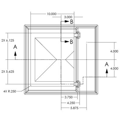 1RM Seamless Sump Tub Configuration 5