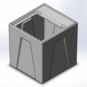 1RM Seamless Sump Tub Configuration 1