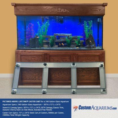 Majestic Aquarium Caster Carts-32725