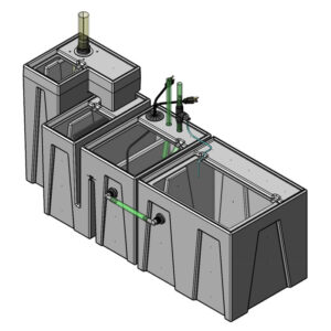 Seamless Sump Package 150-240 Gallon Refugium Configuration