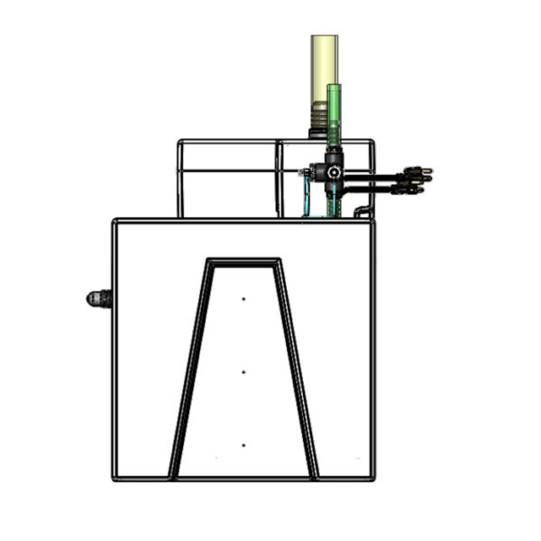 1200GPH Large Seamless Sump® Package - Diagram Right