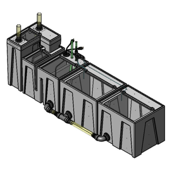 The 2400GPH Large Seamless Sump® Package - Evaporation / Evaporation