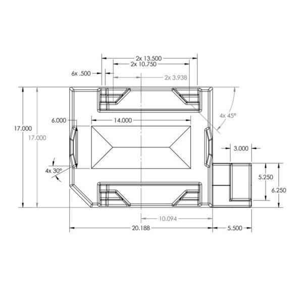 Seamless Sump Skimmer Tub Diagram Skimmer Platform
