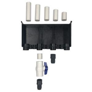 Ultimate 2 Hole 2400GPH Plumbing Kit