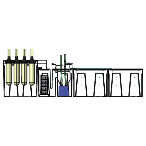 The 4800GPH Large Seamless Sump® Package - Diagram Inside