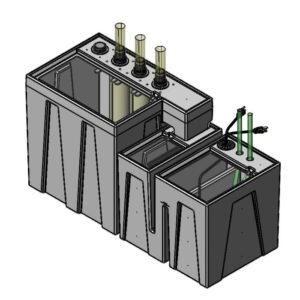 The 4800GPH Nano Seamless Sump® Package