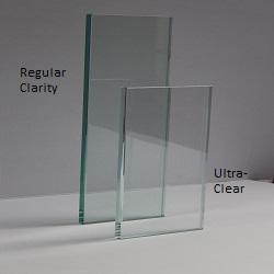 Regular clarity vs ultra-clear glass